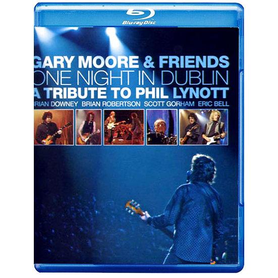 蓋瑞.莫爾:都柏林之夜 Gary Moore: One Night In Dublin (藍光Blu-ray) 【Evosound】