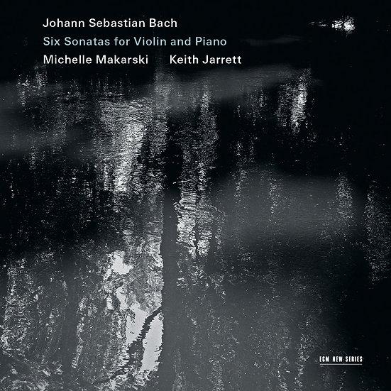 凝視巴哈~六首小提琴與鋼琴奏鳴曲集|鋼琴:奇斯.傑瑞特/小提琴:蜜雪兒.瑪卡斯基 (2CD) 【ECM】