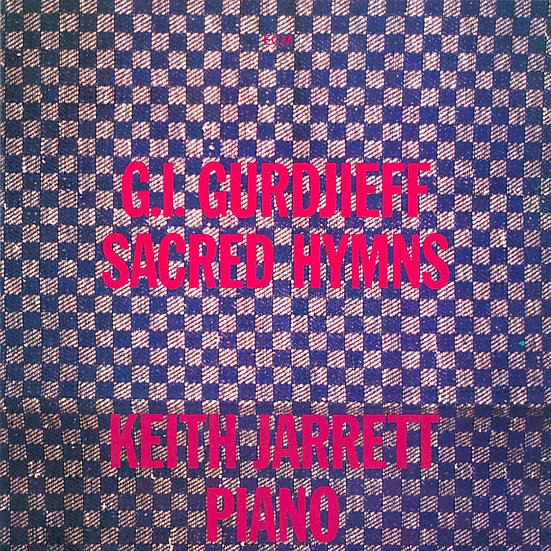 奇斯.傑瑞特 Keith Jarrett: Sacred Hymns of G. I. Gurdjieff (CD) 【ECM】