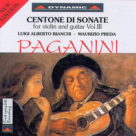 帕格尼尼:小提琴與吉他奏鳴曲2 (CD)【Dynamic】