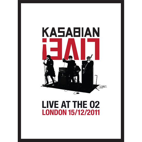 卡薩比恩:O2搖滾全紀錄! Kasabian: Live! – Live At The O2 (DVD+CD) 【Evosound】