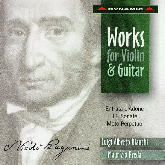 帕格尼尼:魔鬼的吉他情結 Paganini: Works For Violin And Guitar (CD)【Dynamic】