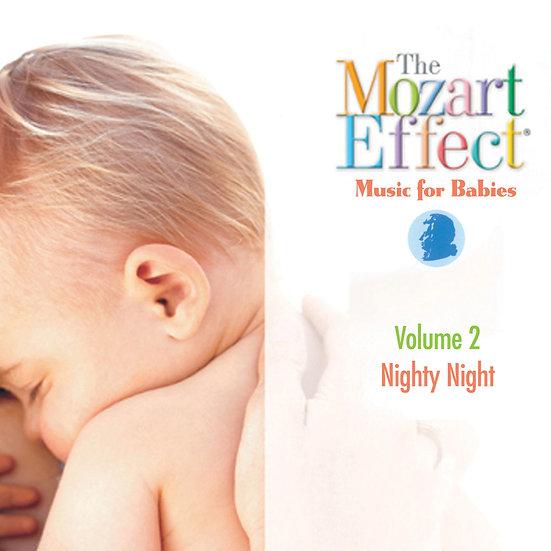 莫札特效應 嬰兒系列Vol. 2 - 夜晚睡眠時間 Mozart Effects Vol. 2 (CD) 【Evosound】
