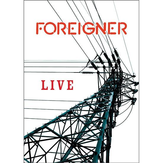 外國人樂團:外國人LIVE演唱會 Foreigner: Foreigner Live (DVD) 【Evosound】