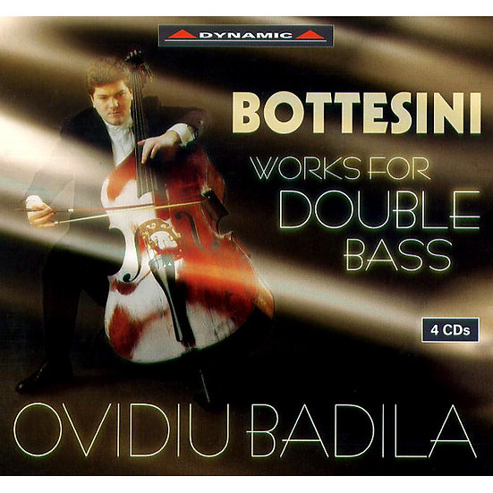 鮑特西尼:低音提琴的帕格尼尼 Bottesini: Works for Double Bass (4CD)【Dynamic】