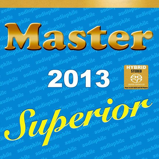 藍色發燒碟 Master Superior Audiophile 2013 (SACD) 【Master】