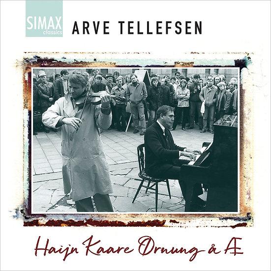 亞弗.泰勒弗森:塵封的珠玉 Arve Tellefsen: Haijn Kaare Ørnung å Æ (CD) 【Simax Classics】