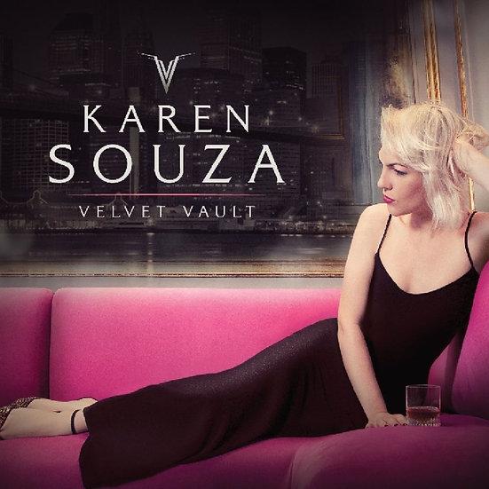 凱倫.莎莎:絲絨魔力 Karen Souza: Velvet Vault (CD) 【Evosound】