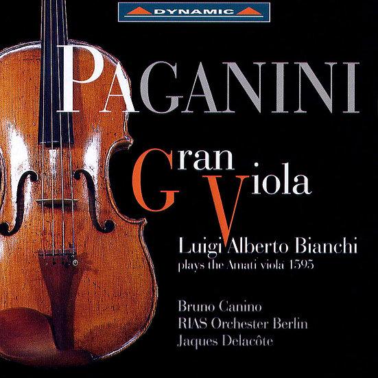 帕格尼尼:我的阿瑪悌中提琴 (CD)【Dynamic】