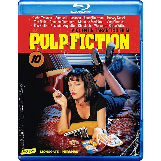 黑色追緝令 Pulp Fiction (藍光Blu-ray)