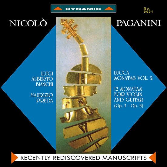 魔鬼情人 - 帕格尼尼:小提琴與吉他奏鳴曲 Paganini: Sonate di Lucca (Vol. 2) (2Vinyl LP)【Dynamic】