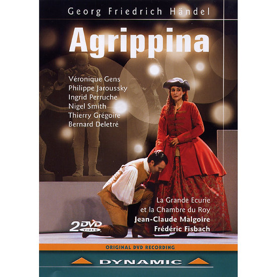 韓德爾:歌劇《阿格比納》 Georg Friedrich Handel: Agrippina (2DVD)【Dynamic】