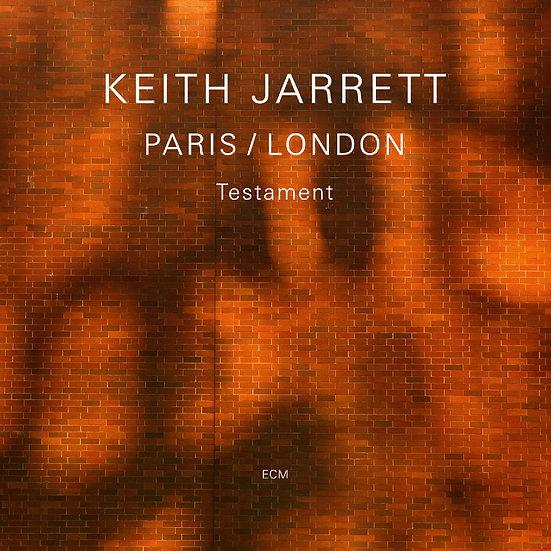 奇斯.傑瑞特:聖約 Keith Jarrett: Paris / London - Testament (3CD) 【ECM】