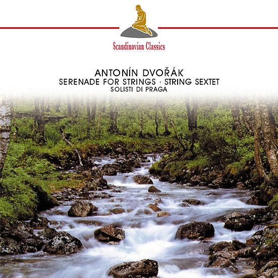 德弗札克:弦樂小夜曲|伯瑞斯.莫諾農&布拉格獨奏家合奏團 (CD)