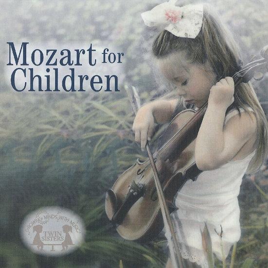 思維成長系列Vol.4 - 為兒童挑選的莫札特音樂 (CD) 【Evosound】
