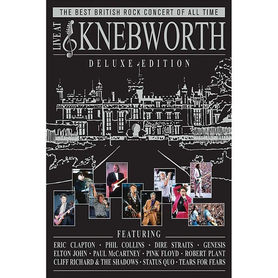 群星齊聚Knebworth演唱會 V.A.: Live At Knebworth (2DVD+2CD) 【Evosound】