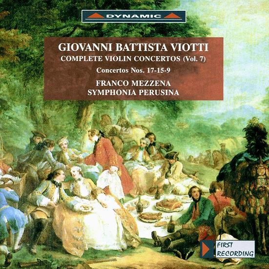 大師的禮讚 – 維歐提小提琴協奏曲全集7 (Vol.7) (CD)【Dynamic】