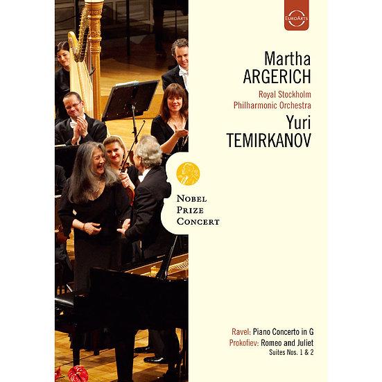 2009年諾貝爾獎音樂會~阿格麗希與泰米卡諾夫的音樂禮讚 Nobel Prize Concert 2009 (DVD) 【EuroArts】