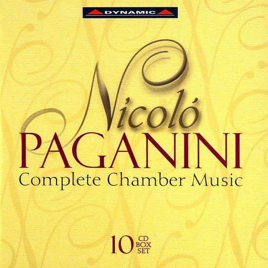 帕格尼尼:室內樂作品大全集 Nicolo Paganini: Complete Chamber Music (10CD)【Dynamic】