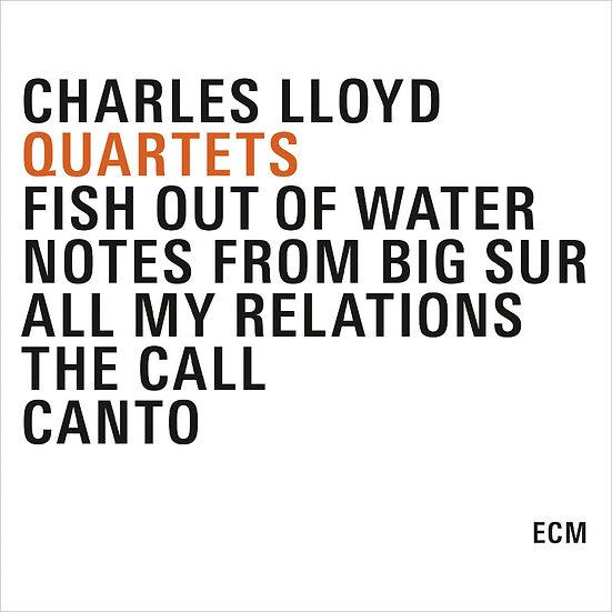 查爾斯.洛伊德:75歲四重奏紀念版 Charles Lloyd: Quartets (5CD) 【ECM】
