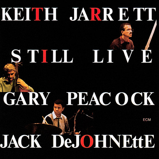 奇斯.傑瑞特三重奏 Keith Jarrett Trio: Still Live (2CD) 【ECM】