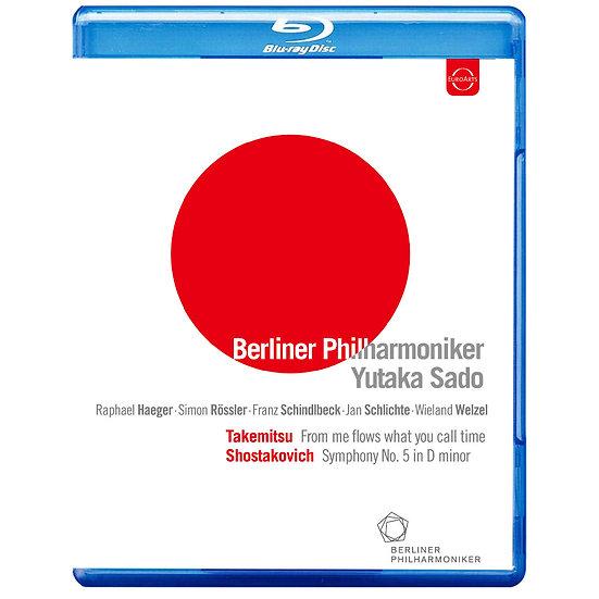 為日本祈福 佐渡裕指揮柏林愛樂 (藍光Blu-ray) 【EuroArts】