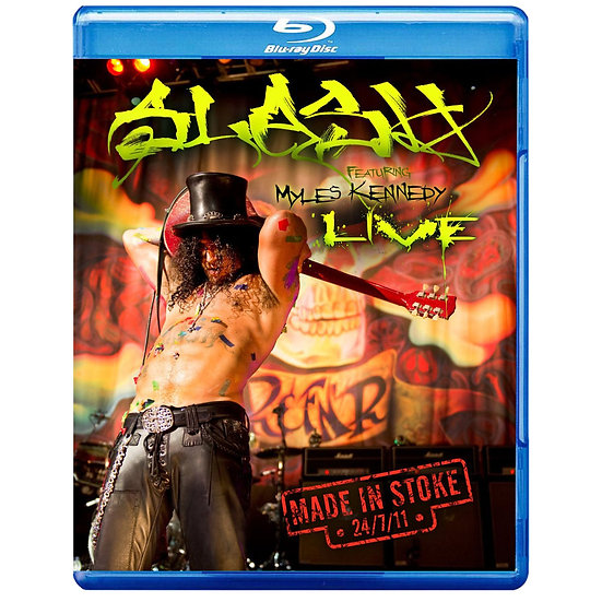 Slash:2011故鄉演唱會 Slash: Made in Stoke 24/7/11 (藍光Blu-ray) 【Evosound】