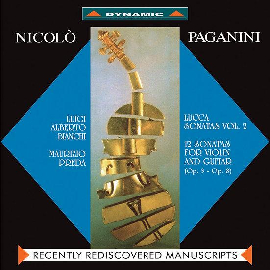 魔鬼情人 - 帕格尼尼:小提琴與吉他奏鳴曲 Paganini: Sonate di Lucca (Vol. 2) (CD)【Dynamic】