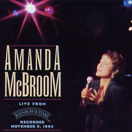 阿曼達:彩虹與星辰 Amanda McBroom: Live From Rainbow & Stars (CD)