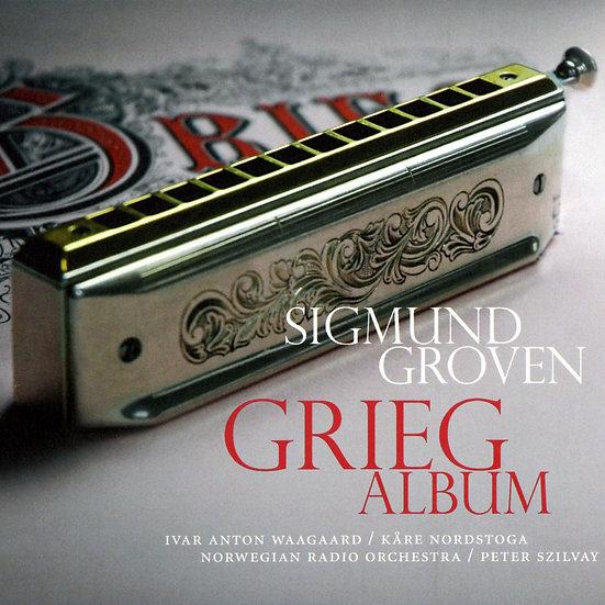 西格蒙.葛洛文:葛利格 Sigmund Groven: Grieg Album (CD) 【Grappa】