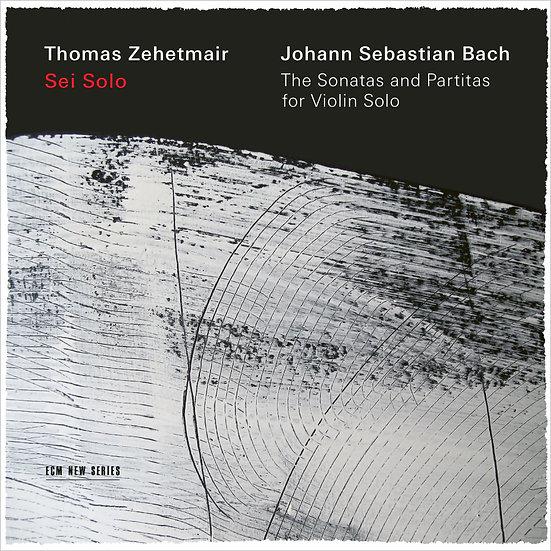 巴哈:無伴奏小提琴組曲|小提琴:湯瑪斯.齊赫梅爾 (2CD) 【ECM】