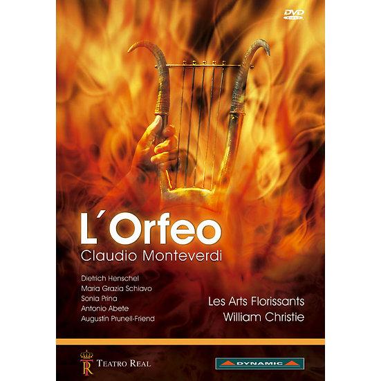 蒙台威爾第:歌劇《奧菲歐》 Claudio Monteverdi: L'Orfeo (DVD)【Dynamic】