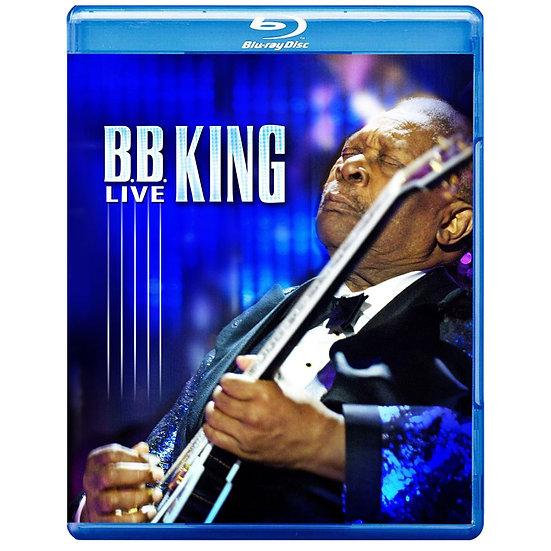 B.B. King:藍調大師演奏會 B.B. King: Live (藍光blu-ray) 【Evosound】
