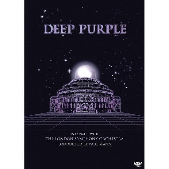深紫色樂團&倫敦交響樂團演唱會 (DVD) 【Evosound】