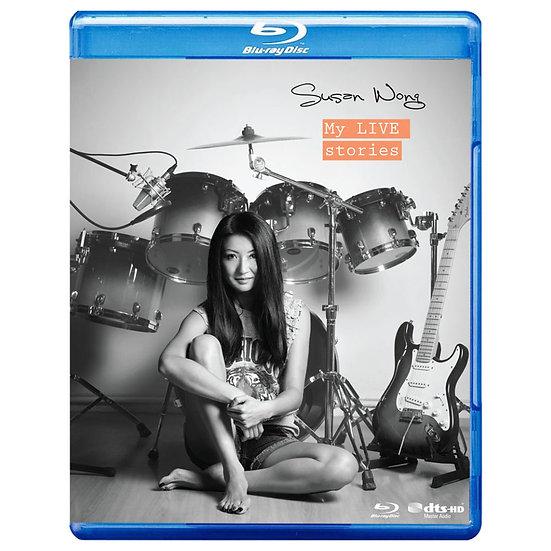 Susan Wong:流金歲月 My Live Stories (藍光Blu-ray) 【Evosound】