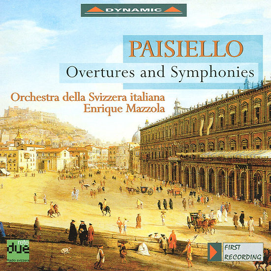 派謝羅:歌劇序曲與交響曲 Giovanni Paisiello: Overtures and Symphonies (CD)【Dynamic】