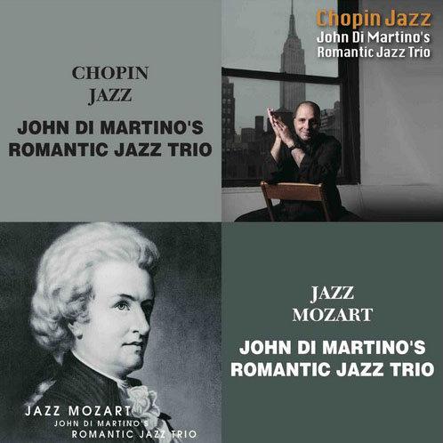 約翰.迪.馬替農浪漫三重奏:蕭邦爵士+爵士莫札特 (限量2CD豪華決定盤)【Venus】