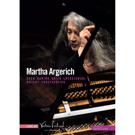 鋼琴女皇 阿格麗希與她的朋友們~韋爾比亞音樂節現場 Martha Argerich – Verbier 2007-2008 (DVD) 【EuroArts】