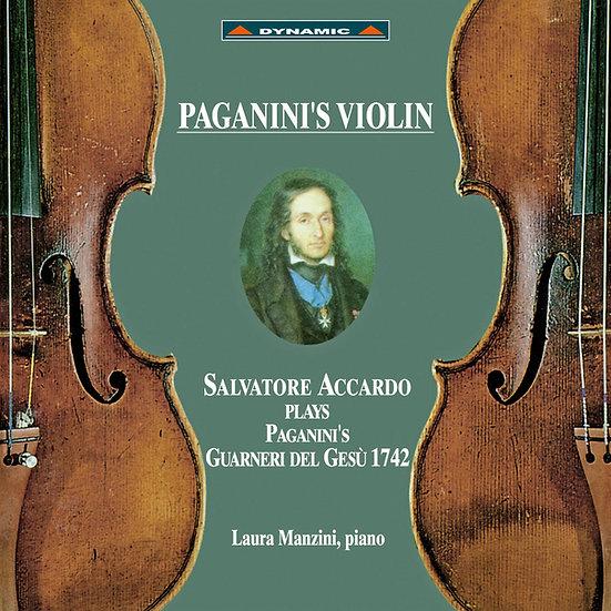 帕格尼尼 名琴加農砲 Paganini's Violin (CD)【Dynamic】