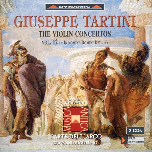 流浪小提琴家塔替尼:小提琴協奏曲全集12 Tartini: The Violin Concertos Volume 12 (2CD)【Dynamic】