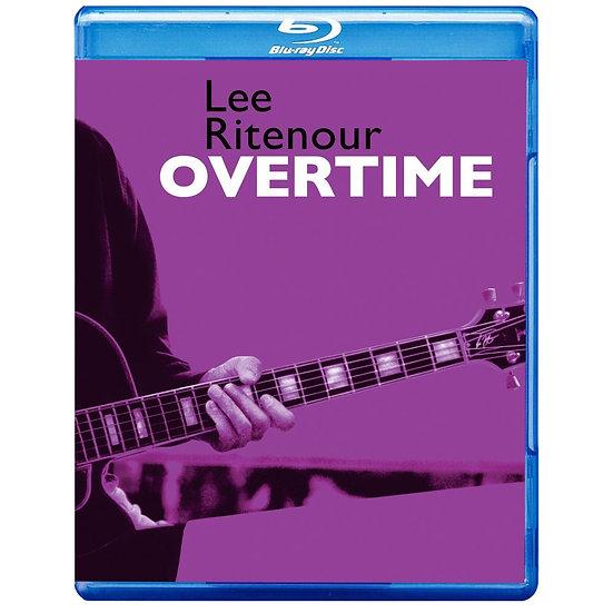 李.萊特諾:加班 演唱會 Lee Ritenour: Overtime (藍光blu-ray) 【Evosound】