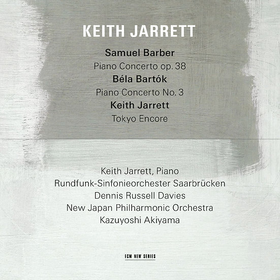 奇斯.傑瑞特:鋼琴協奏狂想 Keith Jarrett: Barber, Bartók Piano Concerto (CD) 【ECM】