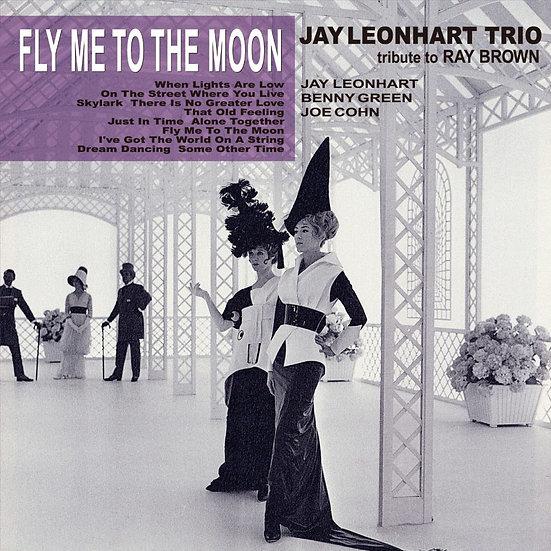 里昂.哈特三重奏:帶我去月球~向雷.布朗致敬 (CD) 【Venus】