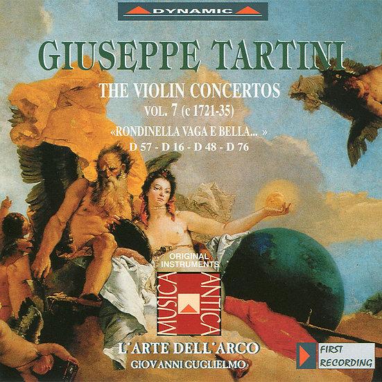 流浪小提琴家塔替尼:小提琴協奏曲全集7 Tartini: The Violin Concertos Volume 7 (CD)【Dynamic】