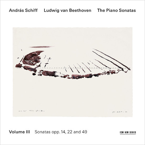 貝多芬鋼琴奏鳴曲集3|鋼琴:席夫 András Schiff / Beethoven: Piano Sonatas Vol.3 (CD) 【ECM】
