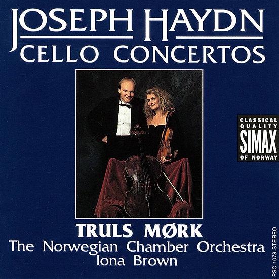 海頓:C大調&D大調大提琴協奏曲|大提琴:莫克/艾歐娜.布朗 指揮 挪威室內管弦樂團 (CD) 【Simax Classics】