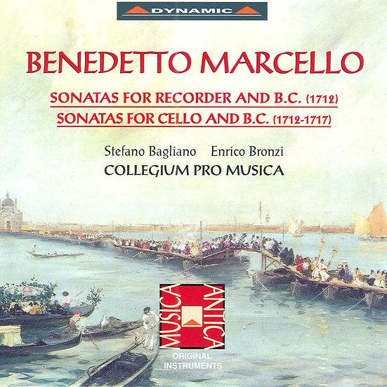 馬切洛:大提琴奏鳴曲、直笛奏鳴曲  (CD)【Dynamic】