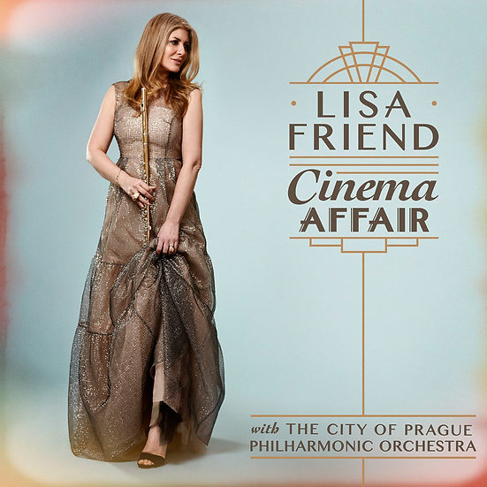 麗莎.佛列德:電影情懷 Lisa Friend: Cinema Affair (CD) 【Silva Screen】