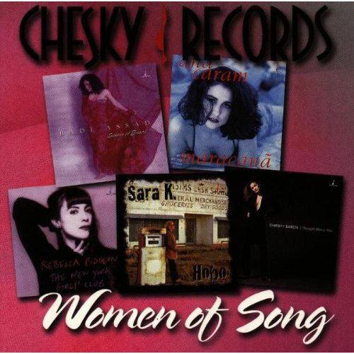 CHESKY爵士女人香 Women Of Song (CD) 【Chesky】