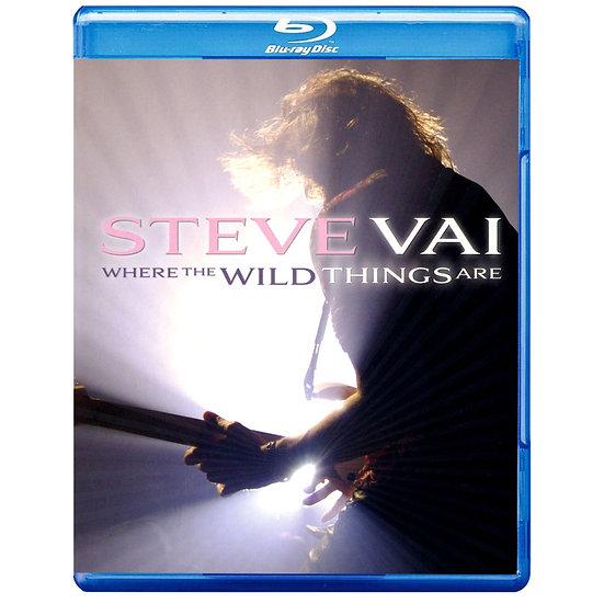 史帝夫范:野獸冒險樂園 Steve Vai: Where The Wild Things Are (2藍光Blu-ray) 【Evosound】